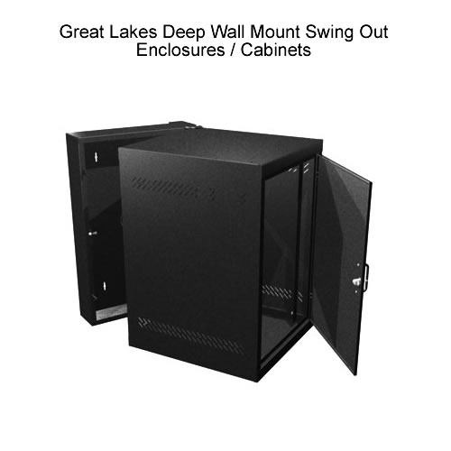 Deep wall mount swing out enclosures - icon