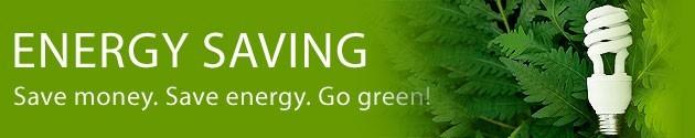 Save Money ... Save Energy ... Go Green!!