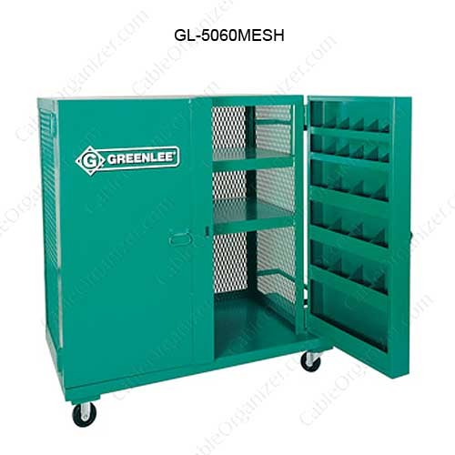 Greenlee Mesh Job Box with Casters - icon