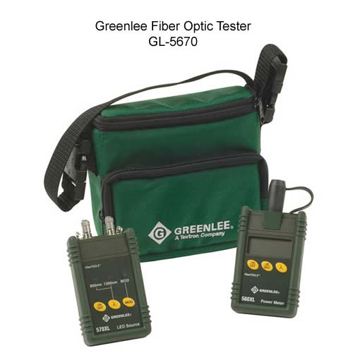 greenlee 5670 fiber optic test set components icon