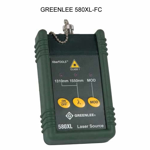 greenlee 580xl singlemode laser source for fc connectors icon