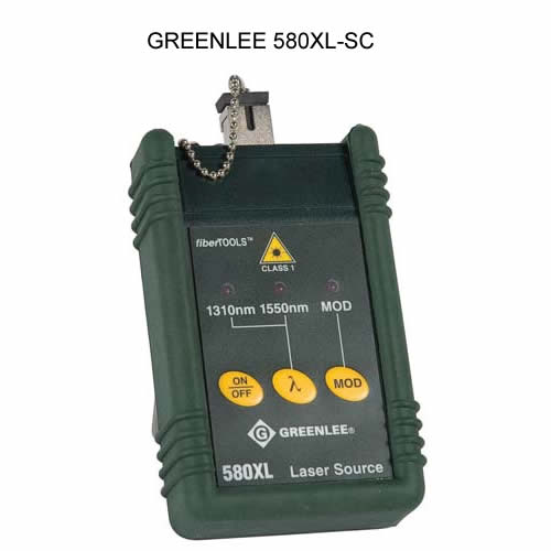 greenlee 580xl singlemode laser source for sc connectors icon