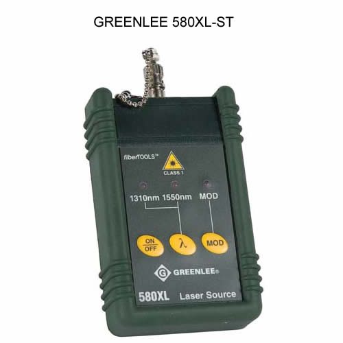 greenlee 580xl singlemode laser source for st connectors icon