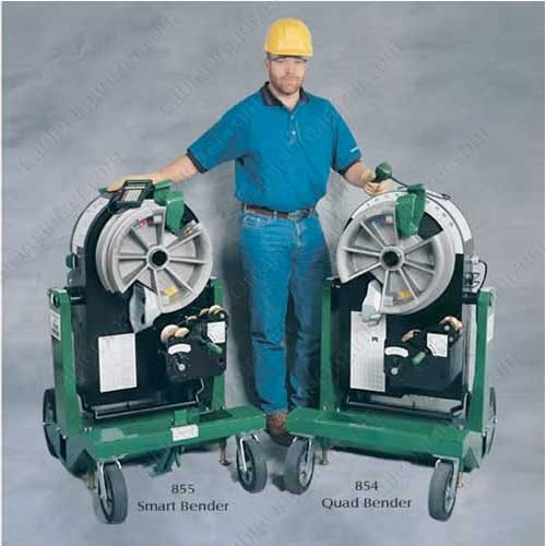greenlee 855 smart bender and 854 quad bender - icon
