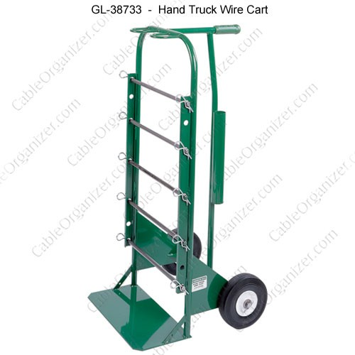 greenlee hand truck wire cart icon