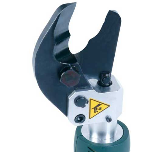 close up of greenlee es32 cable cutter blades icon