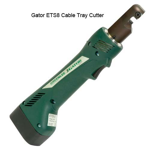 Gator ETS8 Battery Powered Cable Tray Cutters