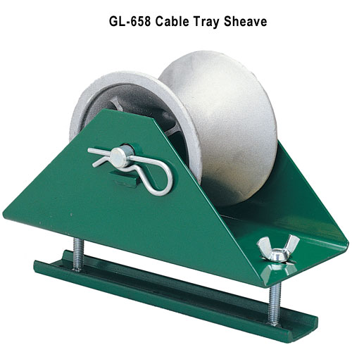 greenlee 658 cable tray sheave icon