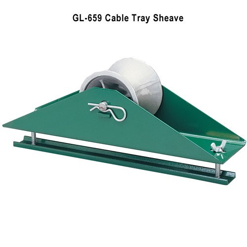 greenlee 659 cable tray sheave icon