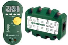Greenlee cable testers, electrical test equipment