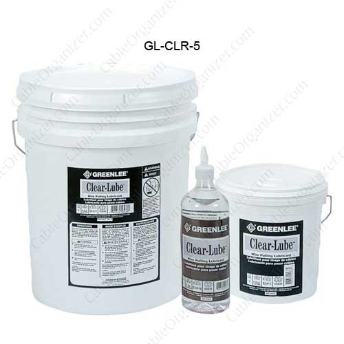 Clear Lubricants Pulling Lubricant, 5 Gallon
