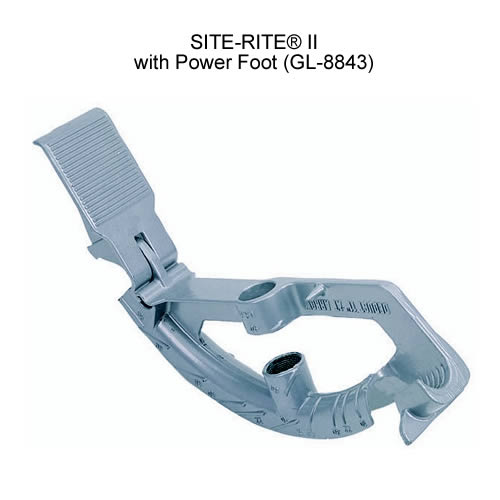 greenlee 8843 site-rite 2 conduit bender with power foot icon