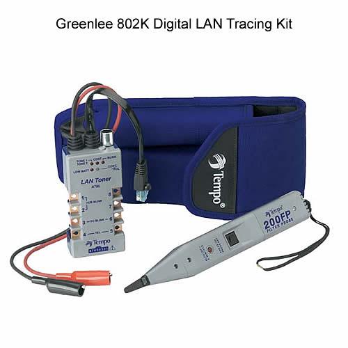 Greenlee 802K Digital LAN Tracing Kit