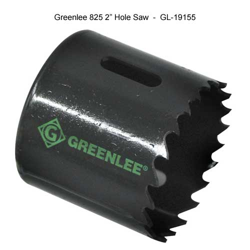 greenlee two inch hole saw - icon