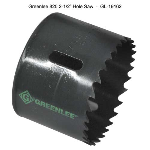 greenlee two and a half inches hole saw - icon