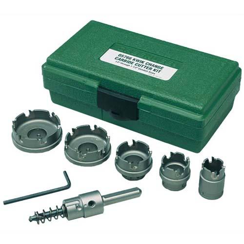 Greenlee GL-660 Kwik Change™ Stainless Steel Hole Cutter Kit