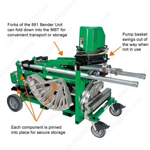 Greenlee Mobile Conduit Bending Table - icon