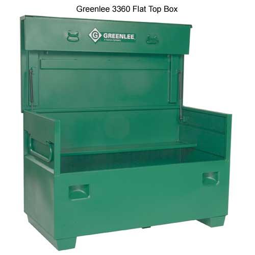 greenlee 3360 flat top box - icon