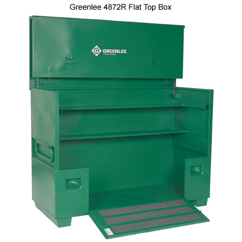 greenlee 4872r flat top box - icon