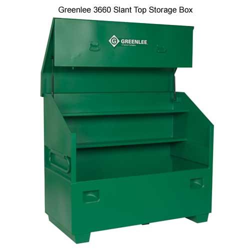 greenlee 3660 slant top box - icon