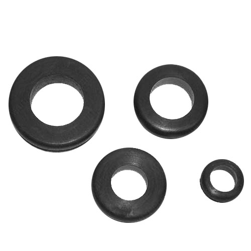 rubber grommets in various sizes - icon