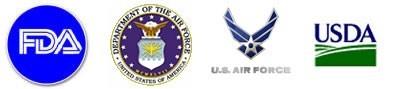 FDA, Department of Air Force, USAF, USDA