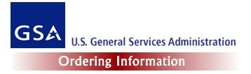 US General Services Administration - Ordering Information