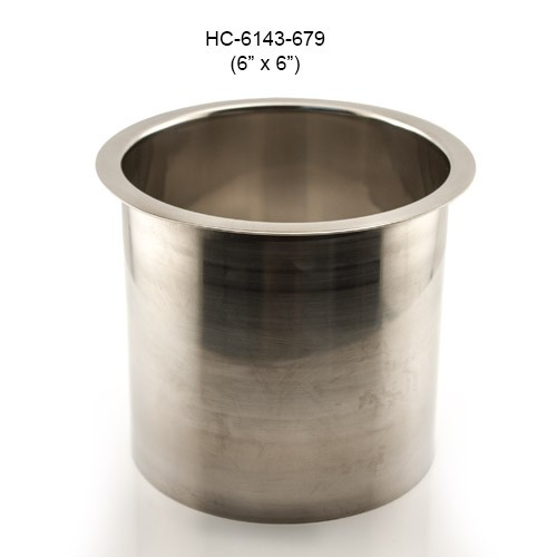 Round Stainless Steel Grommet, 6in by 6in
