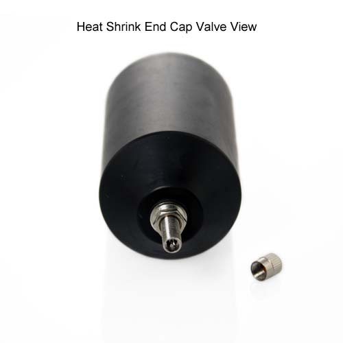 Heat Shrink End Cap Valve view - icon