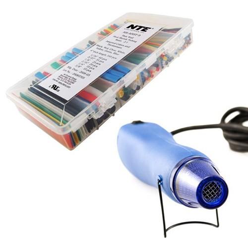 Mini Heat Gun and Heat Shrink Kit