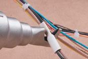 weldy plus heat gun heat shrink tip