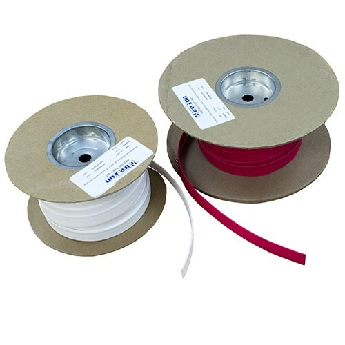 Red and White 3:1 Heat Shrink Spools