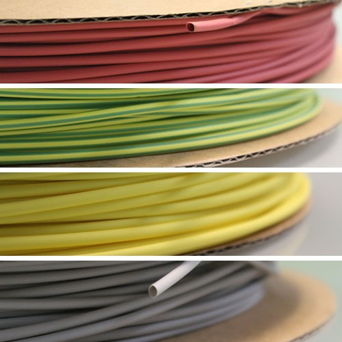 WireRun Heat Shrink in Colors