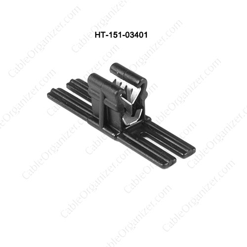 HellermannTyton® Edge Clip and Cable Tie Assemblies HT-151-03401