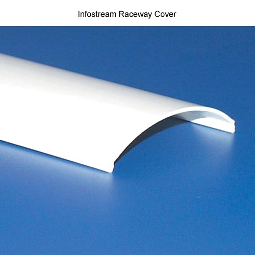 close up of hellermanntyton infostream multi channel raceway cover - icon