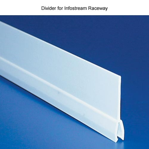 close up of hellermanntyton infostream multi channel raceway divider - icon
