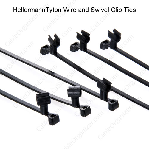 Swivel Clip Cable Ties - icon