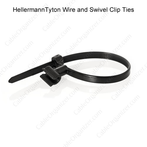 HellermannTyton Swivel Clip Cable Ties - icon