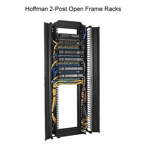 Hoffman 2-Post Open Frame Racks