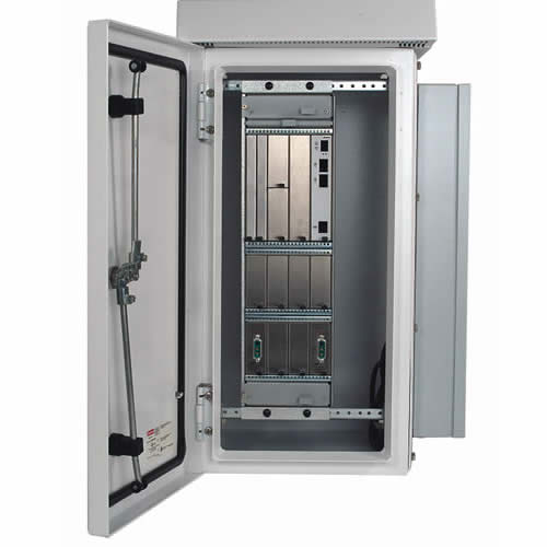 hoffman comline osp wall nount cabinet with door open - icon