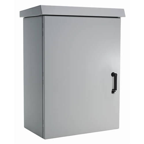 hoffman comline osp wall nount cabinet with door closed - icon