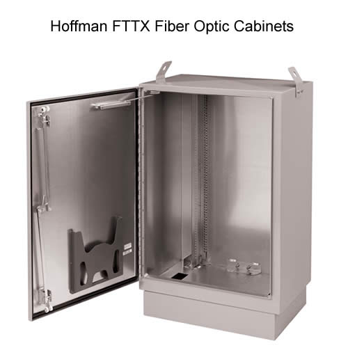Hoffman FTTX Fiber Optic Cabinets