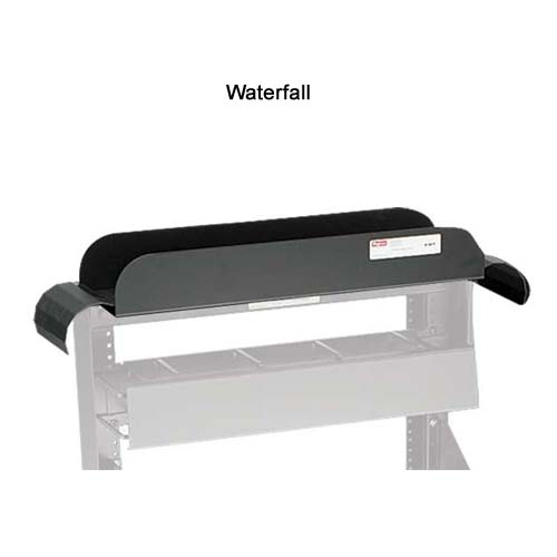 hoffman open frame rack waterfall cable manager - icon