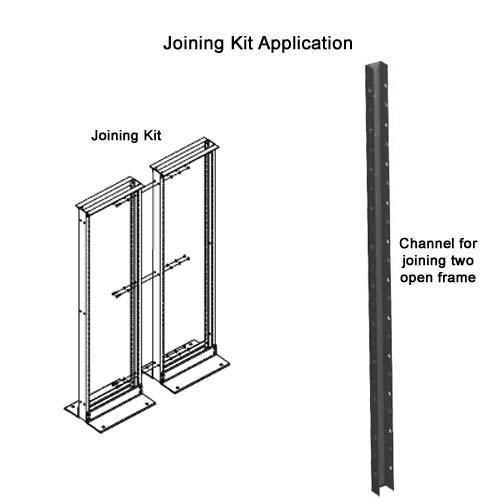 hoffman open frame rack joining kit diagram - icon