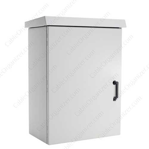 Hoffman Aluminum COMLINE® Cabinet, with optional Sun Shield - icon
