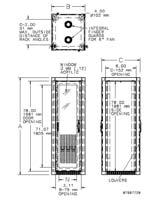 seismic cabinet dimension