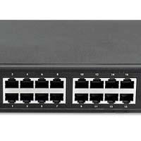 560993 16-Port gigabit Ethernet PoE+