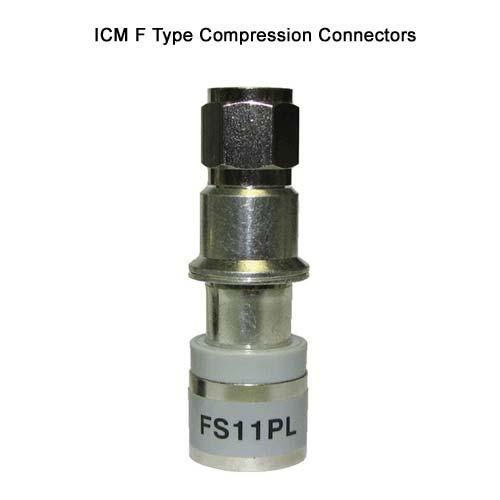 icm fs11pl f type compression connector - icon