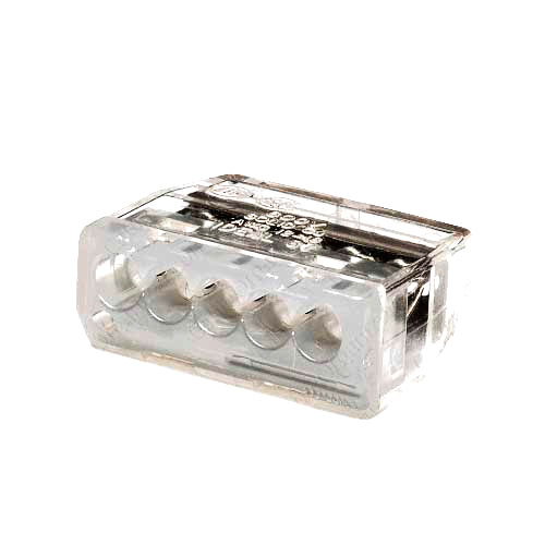Ideal In-Sure Push-In Wire Connectors 5 Ports Gray - icon