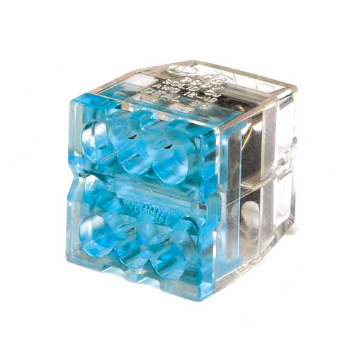 Ideal In-Sure Push-In Wire Connectors 6 Ports Stacked Blue - icon